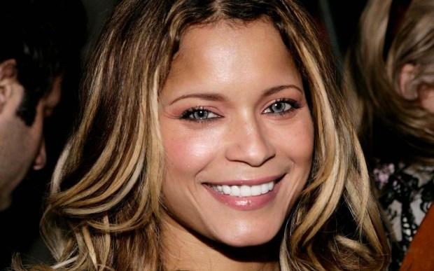 Singer Blu Cantrell is 40. (Associated Press: Matt Sayles)