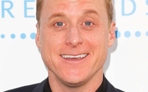 """Actor Alan Tudyk — """"Newsreaders,"""" """"Suburgatory"""" — is 45. He also voiced roles in """"Big Hero 6,"""" """"Frozen"""" and """"Chozen."""" (Getty Images: Imeh Akpanudosen)"""