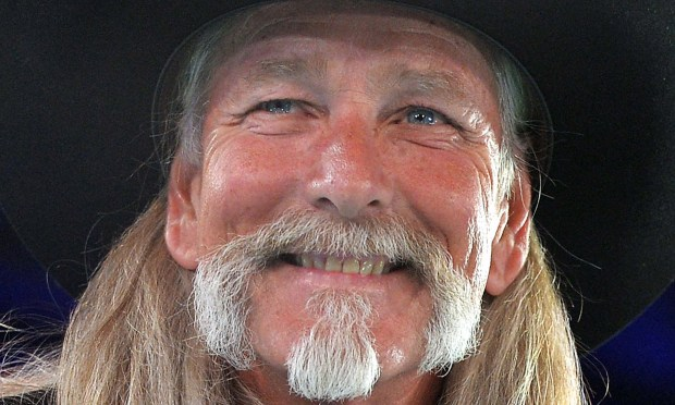 Country singer Dean Dillon is 61. (Getty Images: Rick Diamond)