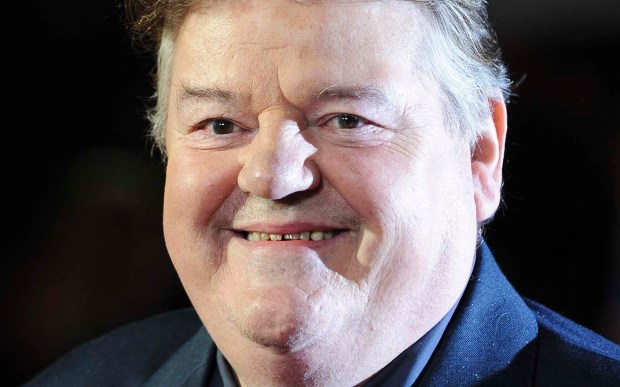 "Actor Robbie Coltrane -- he played the gentle giant Hagrid in the ""Harry Potter"" movies is 66. (Associated Press: Ki Price)"