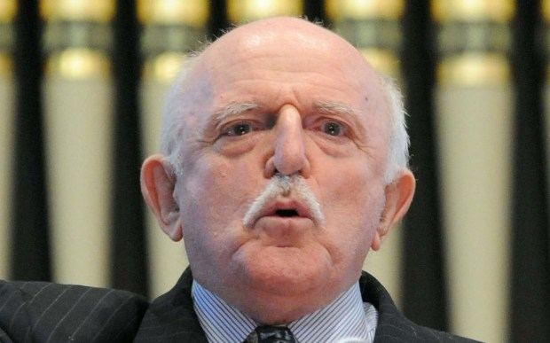 "Actor John Astin of ""The Addams Family"" is 86. (Associated Press: Steve Ruark)"