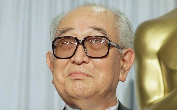"Influential filmmaker Akira Kurosawa, shown in 1990, -- ""Rashomon,"" ""Seven Samurai"" -- was born on this day in 1910. He died in 1998. (Associated Press file photo)"