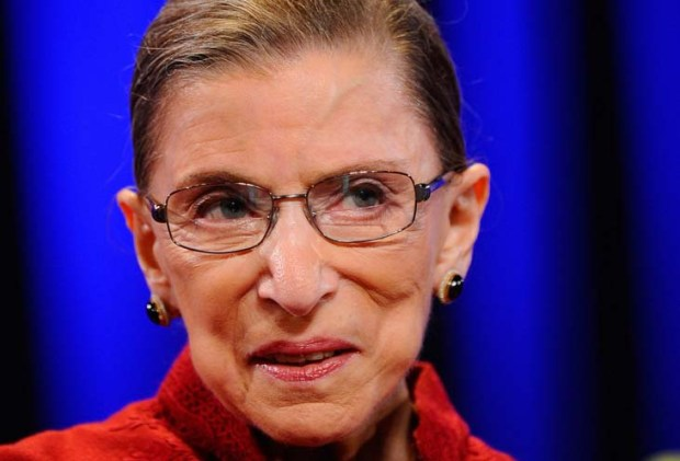RBG -- U.S. Supreme Court Justice Ruth Bader Ginsburg --- is 83. (Getty Images: Kevork Djansezian)