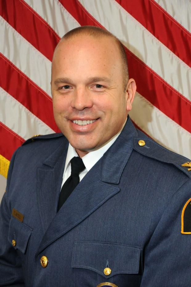NOTE: THIS IS THE PREFERRED PHOTO OF AXTELL TO USE, PLEASE -- Undated courtesy photo, circa March 2016, of St. Paul Assistant Police Chief Todd Axtell, who applied in 2016 to become the city's next police chief. (Courtesy photo)
