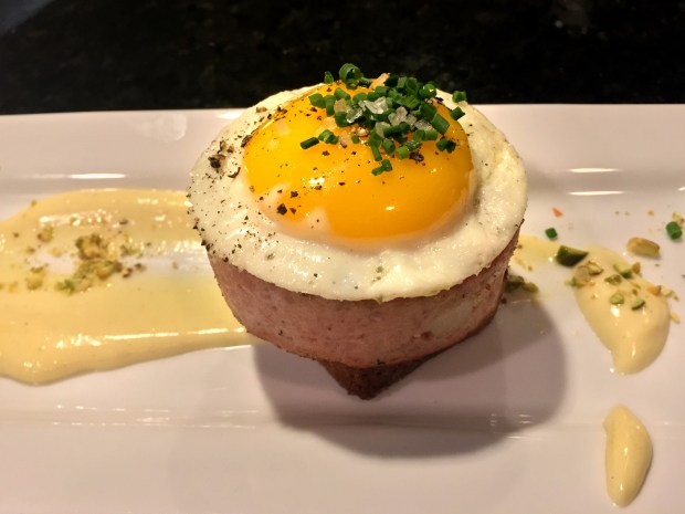 Bologna sandwich at Corner Table in Minneapolis (Pioneer Press: Nancy Ngo)
