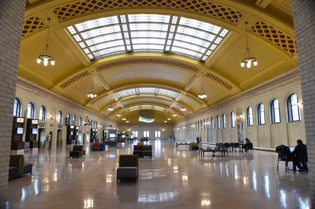 Completed in 1926 and renovated some 85 years later, Union Depot is the largest property in downtown St. Paul. It sits on nearly 10 acres of land. (Pioneer Press: Scott Takushi)