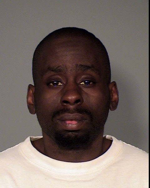 The Ramsey County attorney's office charged Cass Cordel O'Neal, DOB 10/11/1984, of St. Paul, with two counts of second-degree murder in a double homicide at the Midway Motel in St. Paul that occurred March 22, 2016. (Courtesy Ramsey County sheriff's office)