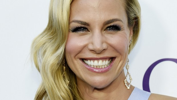 """Actress Brooke Burns and former """"Baywatch"""" babe is 39. (Chris Pizzello/Invision/AP)"""