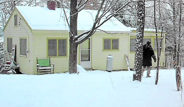 "The cabin in ""Fargo."""