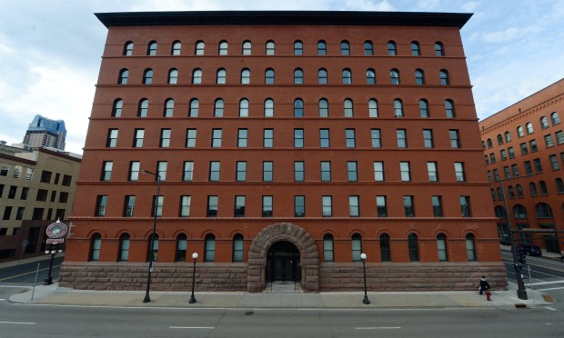 The Great Northern Building in downtown St. Paul. (Pioneer Press: John Autey)