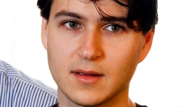 Vampire Weekend's Ezra Koenig, poses for a photograph during the SXSW Music Festival, on Thursday, March 14, 2013 in Austin, Texas. (Photo by Jack Plunkett/Invision/AP Images)