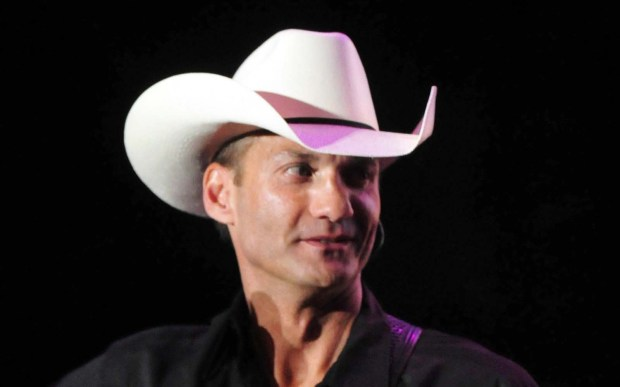 Country singer Wade Hayes is 47. (Getty Images: Jackson Laizure)
