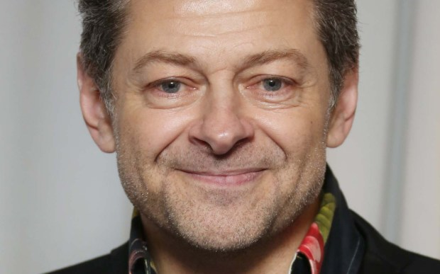 Actor Andy Serkis is 52. (Associated Press: Joel Ryan)