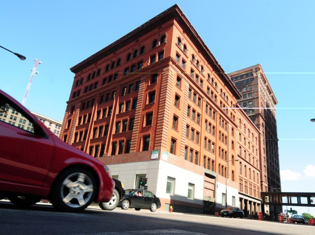 A view of 360 N. Robert Street in St. Paul, Minn., on Friday, July 29, 2011. (Pioneer Press: Ben Garvin)