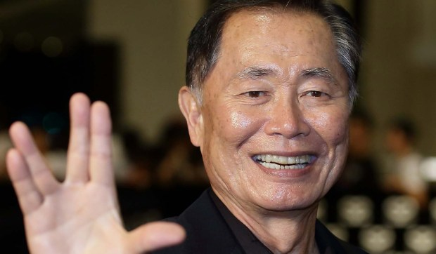 "Actor George Takei -- Sulu, of the original ""Star Trek"" -- is 79. (Getty Images: Suhaimi Abdullah)"
