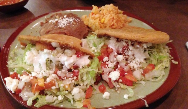 Gorditas at Cien Tacos in Woodbury (Pioneer Press: Jessica Fleming)
