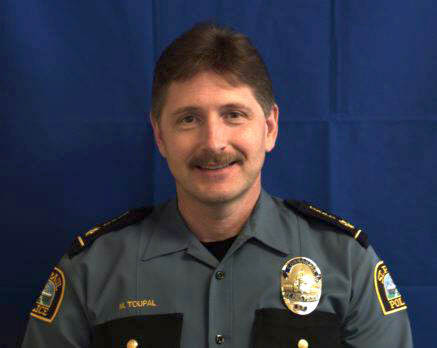 Undated courtesy photo, circa April 2016, of Matt Toupal, interim assistant St. Paul police chief of major crimes, who is in the running to become St. Paul's next police chief. (Courtesy photo)