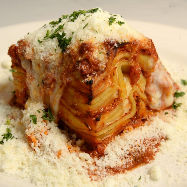 Lasagne Mucci. (Pioneer Press: John Autey)
