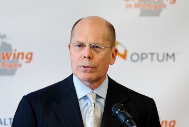 Stephen Hemsley, president and CEO of UnitedHealth Group. (AP Photo/File)