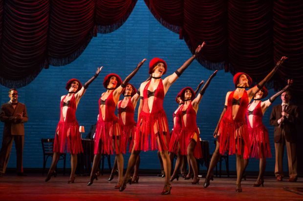 """""""Bullets Over Broadway"""" is a musical adapted from the Woody Allen comedy."""
