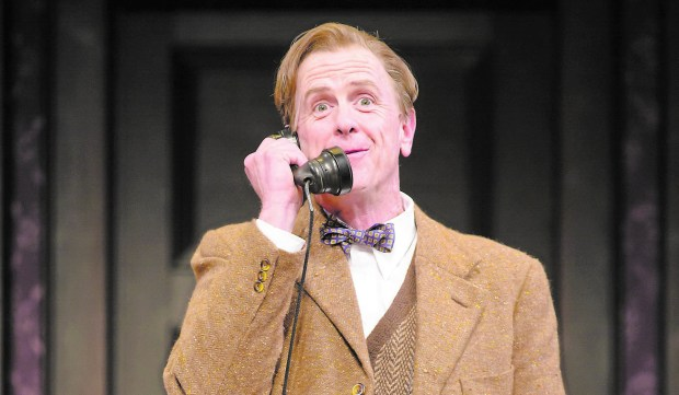 "David Kelly is Elwood P. Dowd in the Guthrie production of ""Harvey."" (T Charles Erickson)"