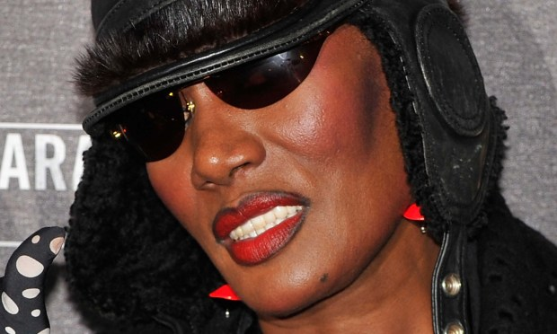 Singer-actress-model Grace Jones is 68. (Getty Images: Gareth Cattermole)