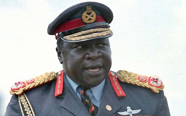 Highly decorated genocidal maniac Idi Amin was born onthis day in 1925. He died in 2003. (Associated Press file photo)