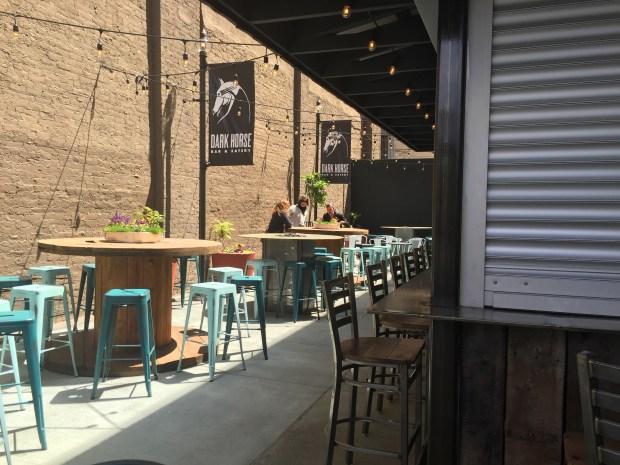 May 19, 2016 photo of Dark Horse Bar & Eatery in St. Paul's Lowertown (Pioneer Press: Nancy Ngo)