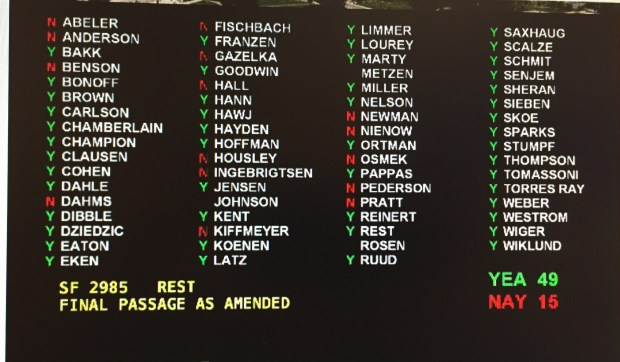 Minnesota Senate on May 12, 2016 overwhelmingly approves moving the state to a presidential primary, rather than a caucus (Pioneer Press: Rachel E. Stassen-Berger)