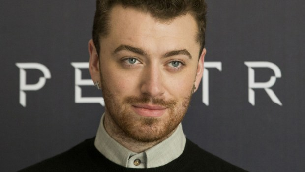 "British singer Sam Smith -- who won the Golden Globe for best original song earlier this week with ""Writing's On the Wall,"" for the ""Spectre"" movie soundtrack -- is 24. (AP Photo/Esteban Felix)"