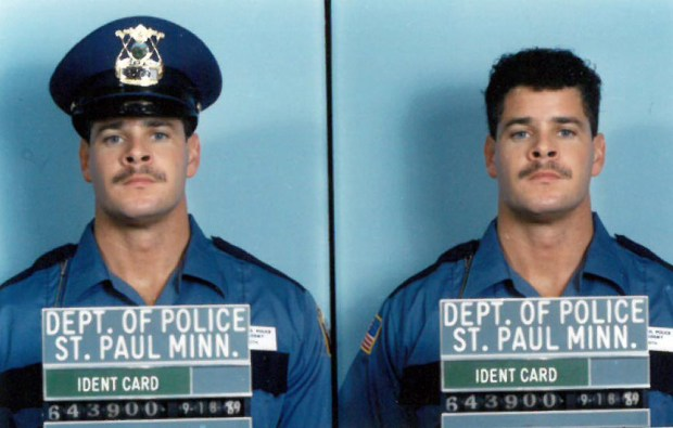St. Paul Police Chief Thomas Smith's recruit identification photo from when he became a St. Paul police officer in 1989. (Courtesy St. Paul police department)
