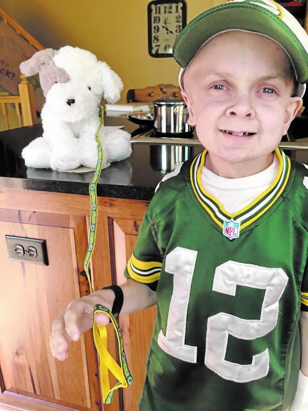 Michael Sheridan is a loyal Green Bay Packers fan. (Photo courtesy of Kathy Roush-Sheridan)