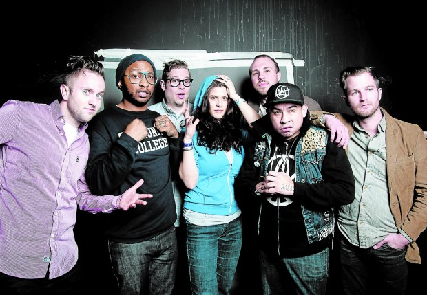 Twin Cities hip-hop collective Doomtree. (Courtesy of the band)
