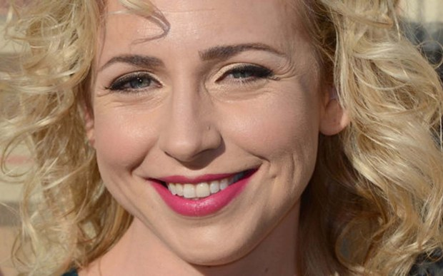 Actress Alicia Goranson is 42. (Getty Images: Frazer Harrison)