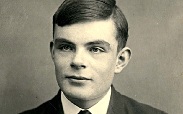 """The late English mathematician and computer scientist Alan Turing -- who cracked the Nazi Enigma code using algorithms during World War II, was born on this day in 1912. He died in 1954. Benedict Cumberbatch portrayed him in the 2014 movie """"The Imitation Game."""" (Photo by Fine Art Images/Heritage Images/Getty Images)"""