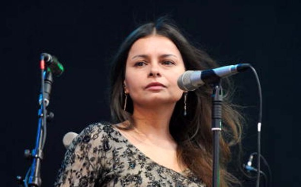 Singer and guitarist Hope Sandoval of Mazzy Star is 50. (Photo by Andy Sheppard/Redferns)