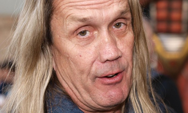 Drummer Nicko McBrain of Iron Maiden is 64. (Getty Images: Max Nash)