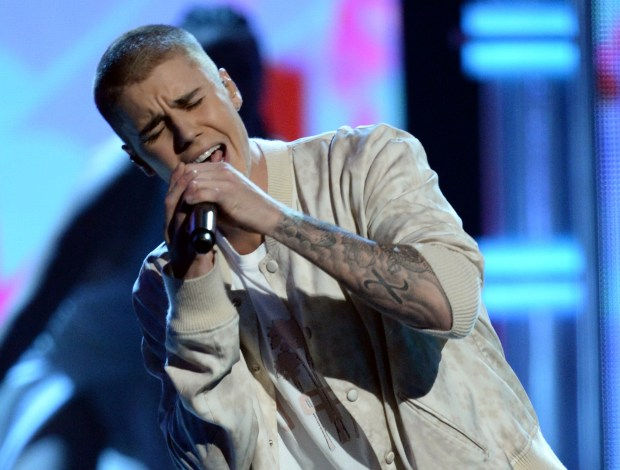 Recording artist Justin Bieber performs onstage during the 2016 Billboard Music Awards at T-Mobile Arena on May 22, 2016 in Las Vegas, Nevada. (Photo by Kevin Winter/Getty Images)