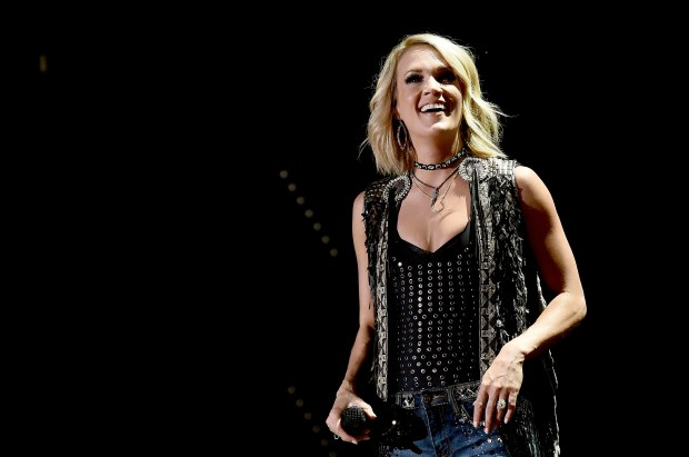 Carrie Underwood performed during the 2016 CMA Festival on June 10 in Nashville. (Getty Images)