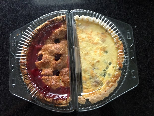 Cherry pie and quiche are just some of the half portion size options at Kowalski''s. (Pioneer Press: Nancy Ngo)