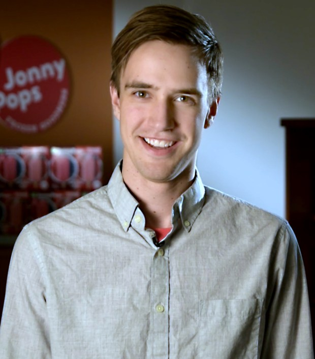 Undated photo of Erik Brust, co-founder/CEO of JonnyPops. (Photo Courtesy)