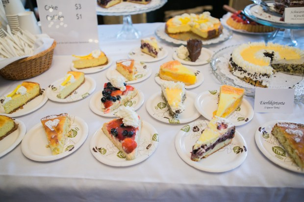 Some of the kuchen and torte that will be available at Deutsche Tage. (Germanic American Institute)