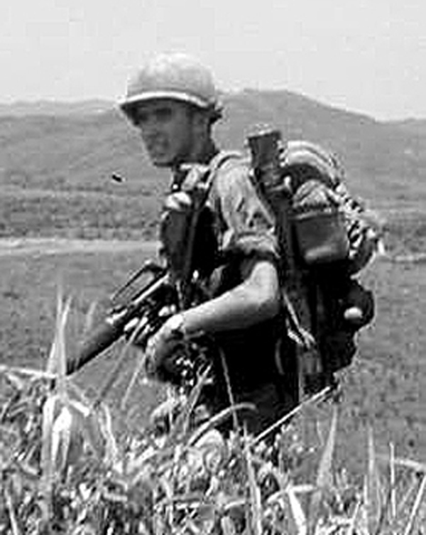 At the age of 17, author Michael Maurer enlisted in the army paratroopers and served in Vietnam in from 1968 to 1969 as an infantryman with the 82nd Airborne Division. (Courtesy photo)