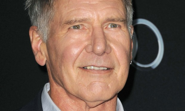 "Actor Harrison Ford is 74. His ""Star Wars"" character, Han Solo, might be the most high-profile guy who, in response to a woman's heart-felt ""I love you,"" said, ""I know."" (Getty Images: Kevin Winter)"