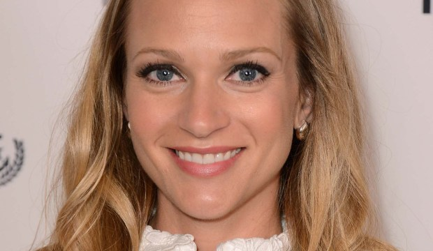 "Actress A. J. Cook of ""Criminal Minds"" is 38. (Associated Press: Jordan Strauss)"