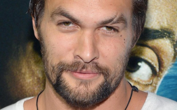 "Actor Jason Momoa of ""Game of Thrones"" is 37. (Getty Images: Mike Coppola)"