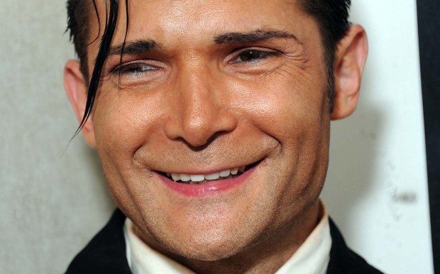 "Actor Corey Feldman -- ""Stand by Me,"" ""Goonies,"" ""Gremlins"" and his creepy new music video for ""Ascension Millennium"" -- is 45. (Associated Press: Katy Winn)"