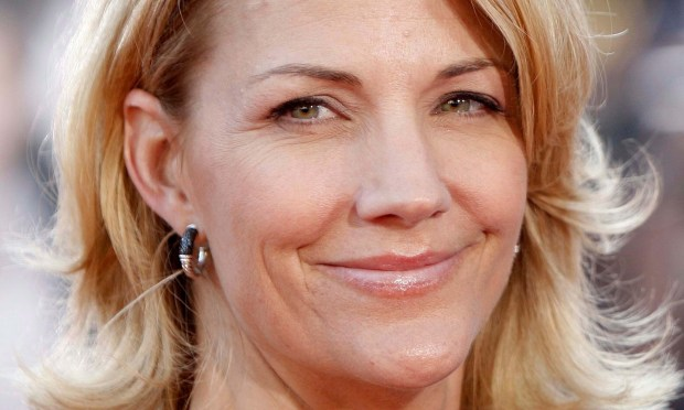 "Actress Nancy Walls Carell, who gets to be married to actor Steve Carell, is 50. She is best known for her comedic work on ""Saturday Night Live,"" ""The Daily Show,"" ""Bridesmaids"" and next to her husband in ""The Office. (Associated Press: Matt Sayles)"