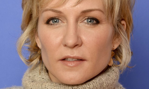 """Actress Amy Carlson of """"Blue Bloods"""" is 48. (Getty Images: Larry Busacca)"""