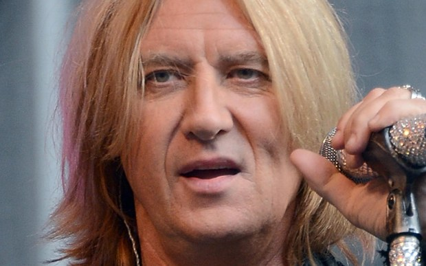 Singer Joe Elliott of Def Leppard is 57. (Getty Images: Dimitrios Kambouris)